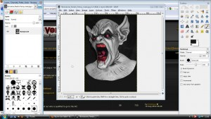 Web development with Gimp in Vitoria